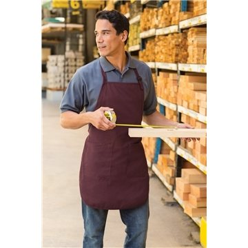 Port Authority® Full Length Apron with Pockets