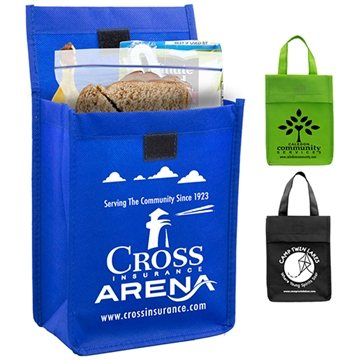 Non-Woven 'Bag-it' Value Priced Lightweight Lunch Tote Bag