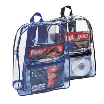 PVC Clear Backpack