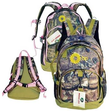 Mossy Oak® Camo Versatile Outdoor Backpack