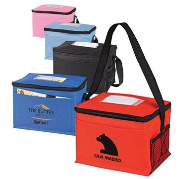 Classic 6-Pack Cooler with ID Holder