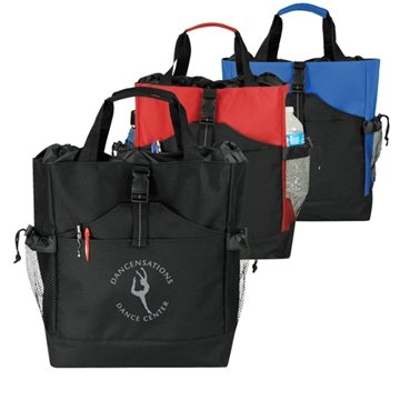 2-Way Drawstring Tote/Backpack