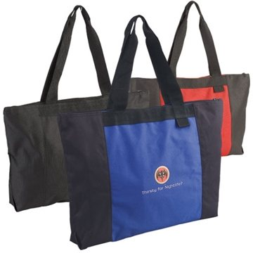 Jumbo Two-Tone Tote Bag