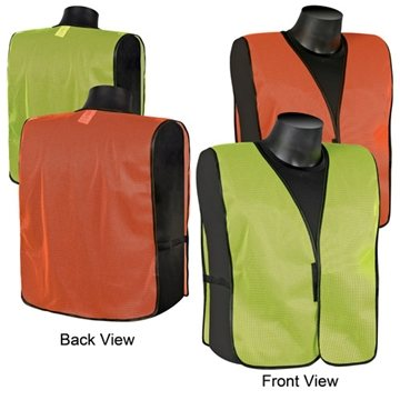 Plain mesh safety vest
