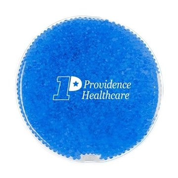 Round Gel Beads Hot/Cold Pack - 7'' Dia