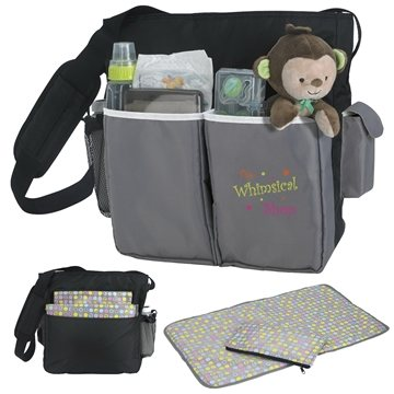 Good Value Polyester Tot Diaper Bag