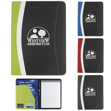 Color Curve Padfolio