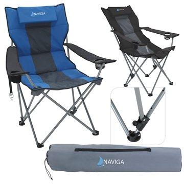 Premium Stripe Reclining Chair