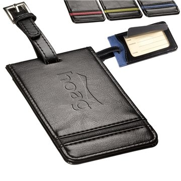 Alpha™ Luggage Tag with Adjustable Strap