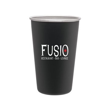 16 oz SS Pint - Matte Black