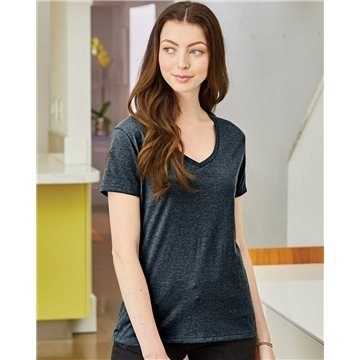 Hanes - Ladies' V-Neck Nano-T® - S04V