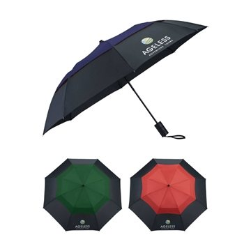 42'' Color Pop Vented Windproof Umbrella