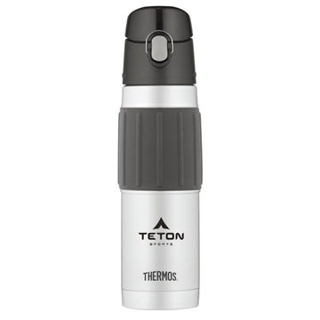 Thermos® Hydration Bottle with Rubber Grip - 18 oz - Stainless Steel
