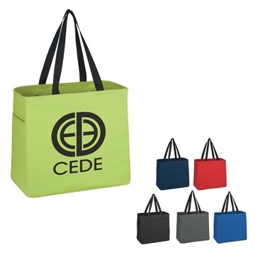 Tote With Side Pockets