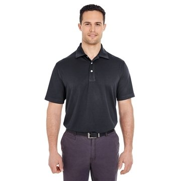 UltraClub® Platinum Performance Jacquard Polo with TempControl Technology