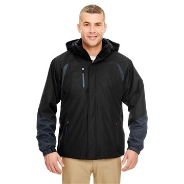 UltraClub® Colorblock 3-in-1 Systems Hooded Jacket