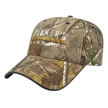 Two-Tone Camo Cap Structured