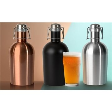 64 oz /1.9 L Stainless Steel Growler 2 Go