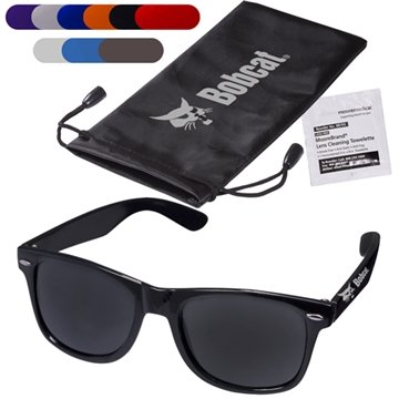 Fashion Sunglasses & Lens Cleaning Wipe in a Pouch
