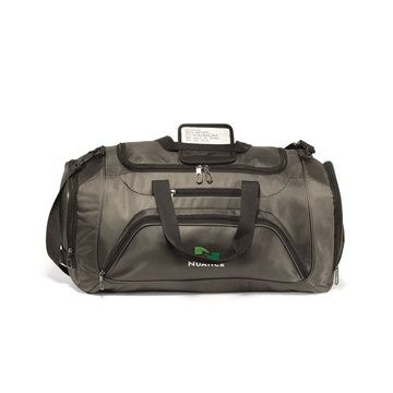 Cross Country Duffel - Gunmetal Grey
