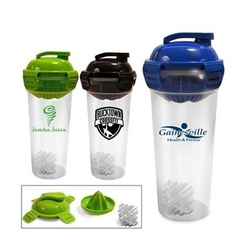 26 oz Juicer Bottle with Shaker Ball