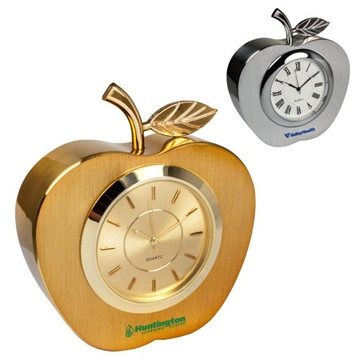 Metal Apple Clock