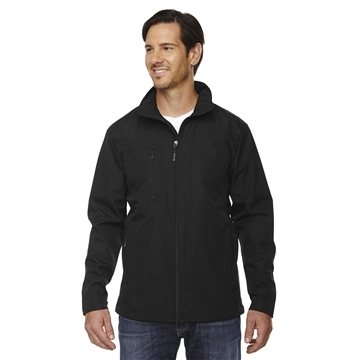 North End® Forecast Three-Layer Light Bonded Travel Soft Shell Jacket