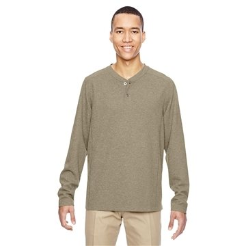 North End® Excursion Nomad Performance Waffle Henley