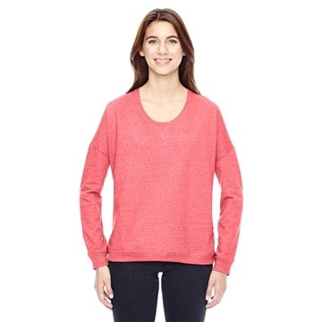 Alternative Ladies' Eco-Mock Twist Sunset Crewneck