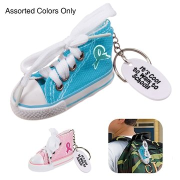 Ribbon Hip Top Sneaker Keychain