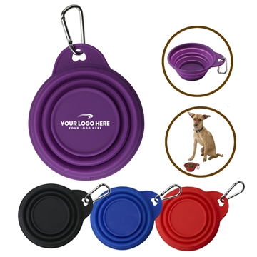 Collapsi-Bowl™ Collapsible Silicone Pet Bowl