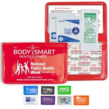 8 Piece Stay Clean First Aid Kit