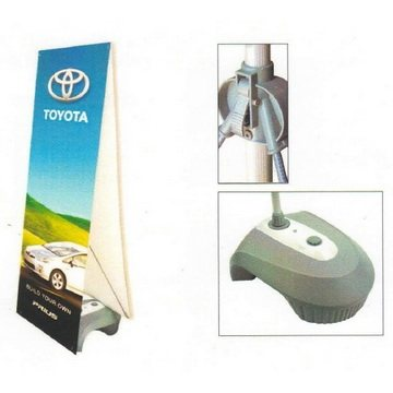 24'' x 69'' Outdoor X Stand - Double Sided