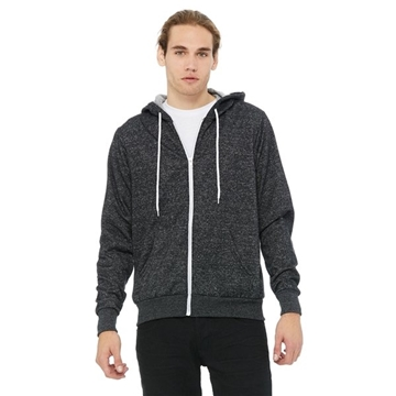 BELLA + CANVAS Poly-Cotton Fleece Full-Zip Hoodie - 3739