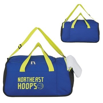 Two Compartment Duffel Bag - 19 ½'' W X 9 ½'' H