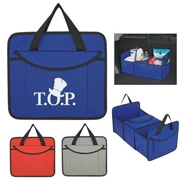 Non-Woven Trunk Organizer With Cooler