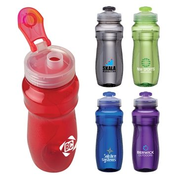 24 oz PET Water Bottle