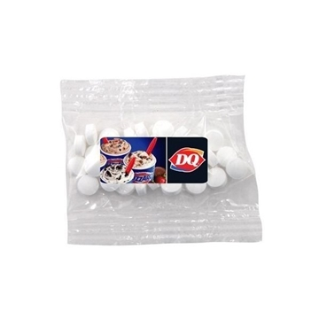 Small Labeled Bountiful Bag Filled with Mini Mints