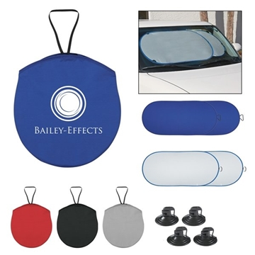 Collapsible Automobile Sun Shade