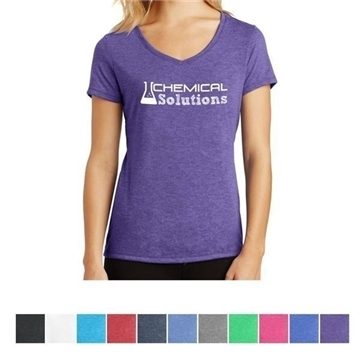 District Made®  Ladies' Perfect Tri™ V-Neck Tee