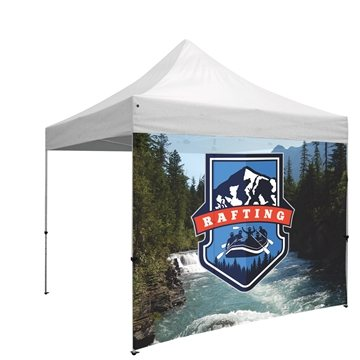 10' Wide Tent Full Wall Only with Zipper Ends (Full-Color Full Bleed Dye-Sublimation)