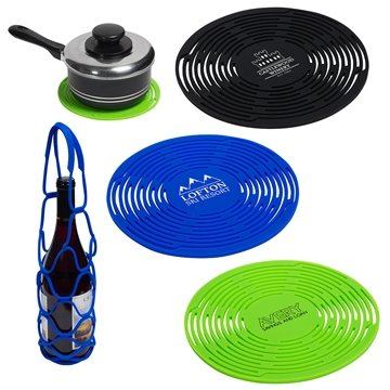 Convertible Silicone Bottle Carrier