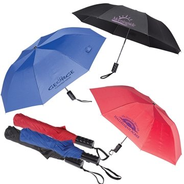 Auto Open Folding Umbrella - 42''