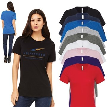 Bella+Canvas® Ladies Relaxed Fit Jersey Tee - 6400