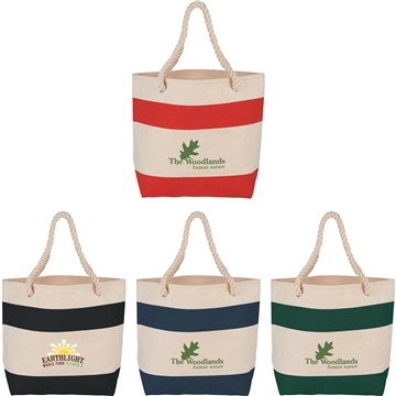 16 oz Cotton Rope Handle Tote