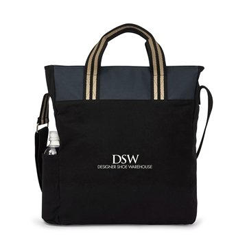 Charlie Cotton Tote - Black