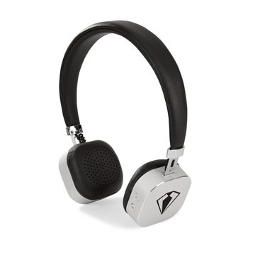 Electra Bluetooth® Headphones - Black-Brushed Silver
