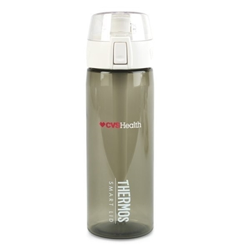 Thermos Connected Hydration Bottle with Smart Lid - 24 oz - Smoke