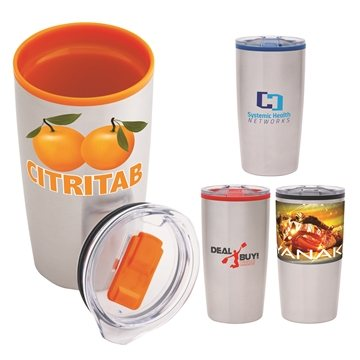 Outback 20 oz  Stainless Steel/PP Liner Tumbler
