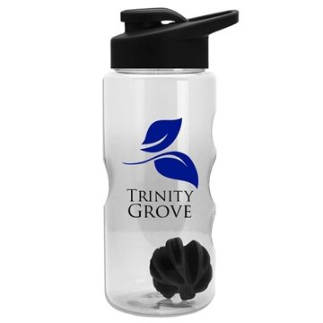 22 oz Shaker Bottle - Drink-Thru Lid